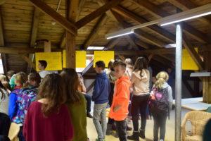 Gallery-Walk in der SMV-Sitzung