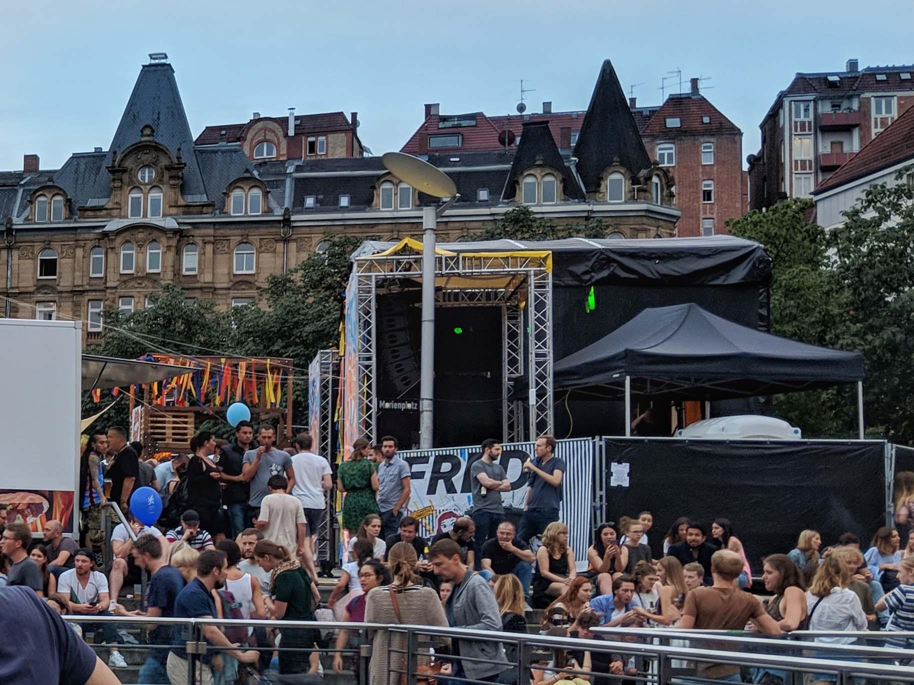 Das Marienplatzfest im Stuttgarter Süden