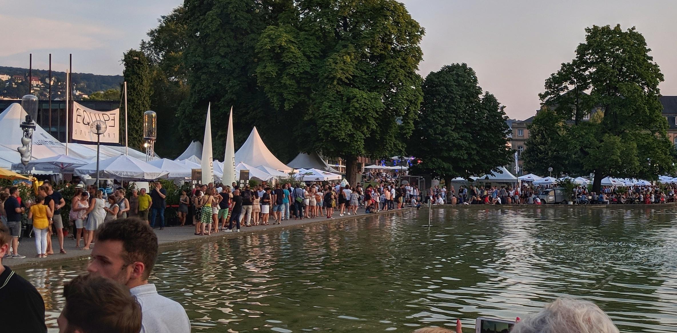 Viele Besucher beim Stuttgarter Sommerfest