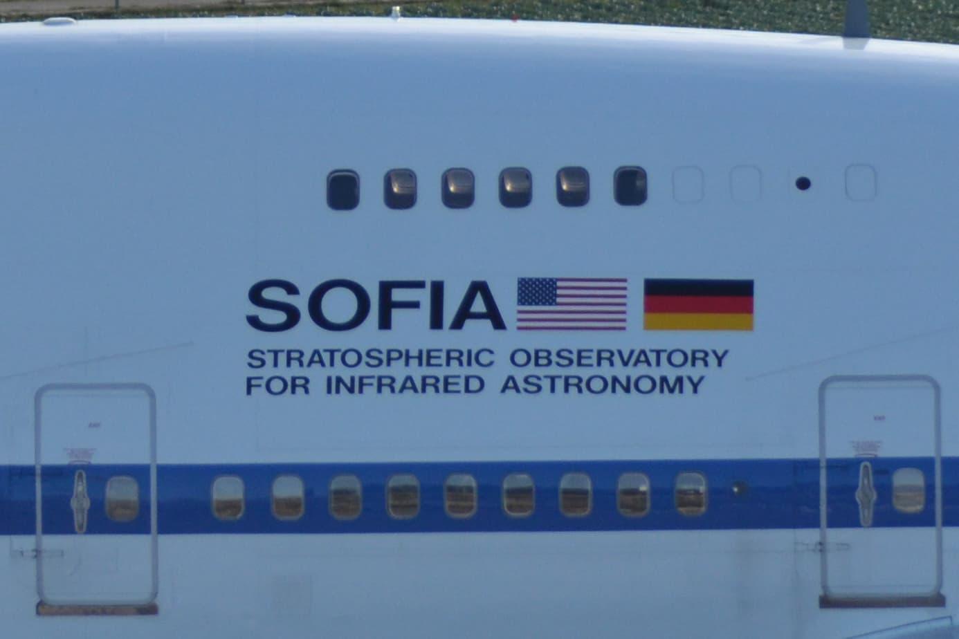 Nahaufnahme von SOFIA