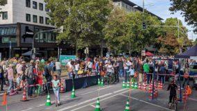 """""""Theo – autofrei"""" in Stuttgart: Tausende Besucher bei Straßenfest"""
