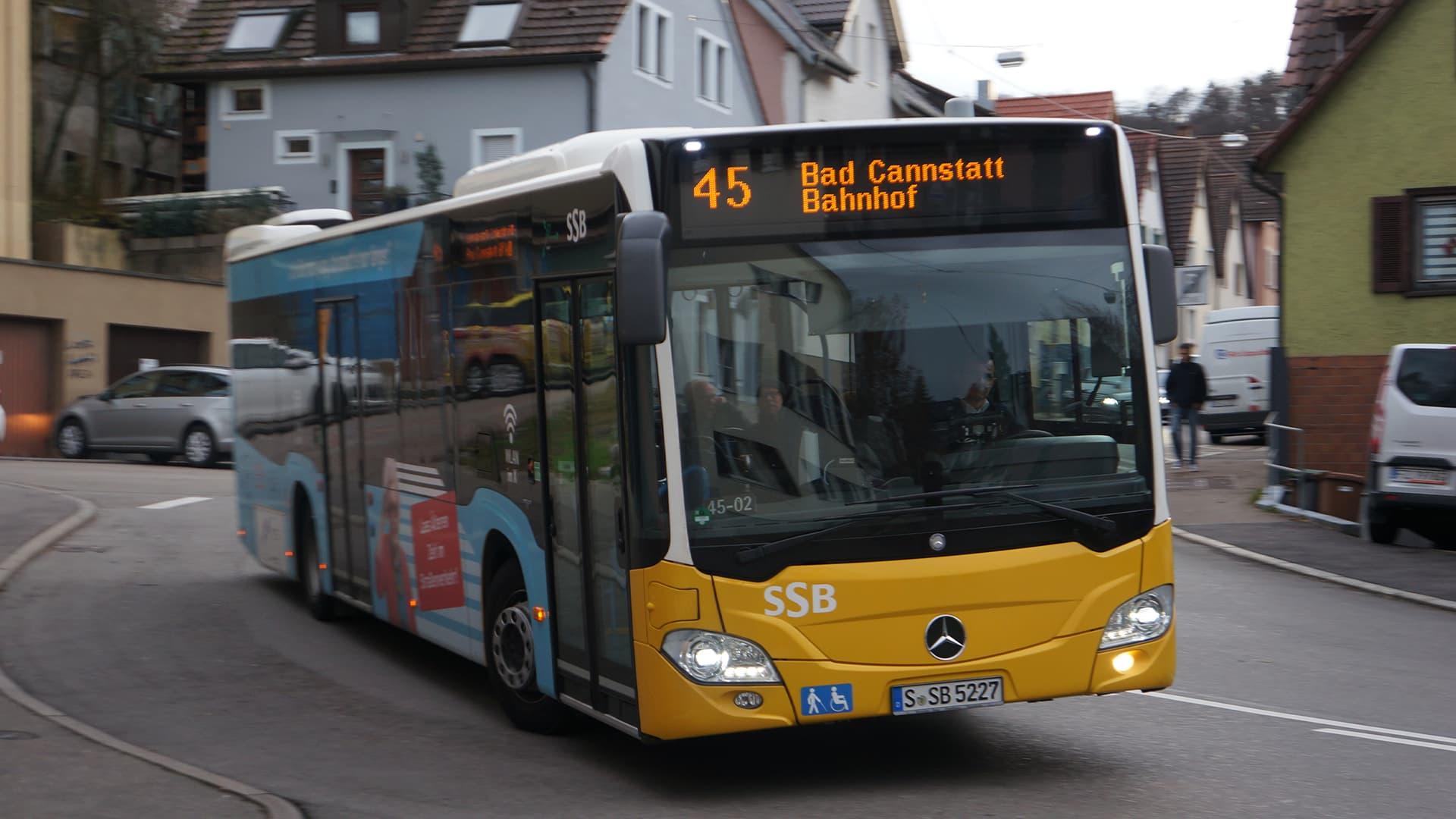 Coronavirus: SSB sperrt Vordereinstieg und stellt Ticketverkauf im Bus ein
